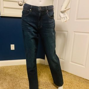 GAP HIGH RISE WIDE STRAIGHT JEANS 28T NWT